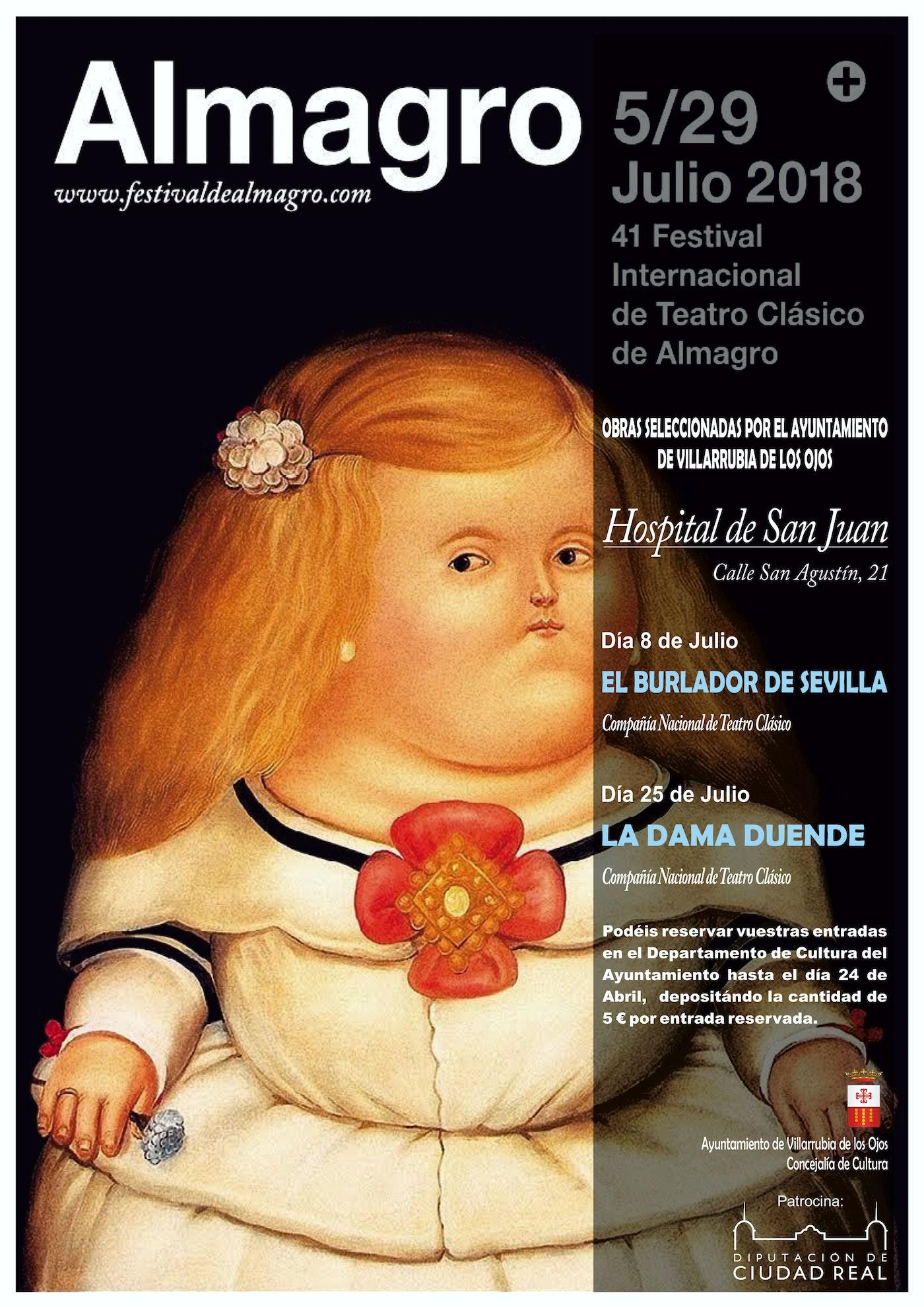 Festival Internacional de Teatro Clásico de Almagro 2018