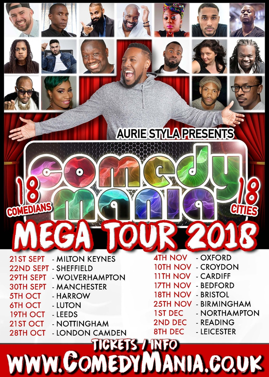 ComedyMania Mega Tour