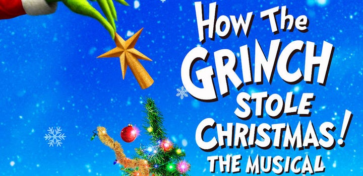 Dr Seuss Christmas.Dr Seuss How The Grinch Stole Christmas Tickets Motorpoint Arena Cardiff 23 November 16 00 Tickx