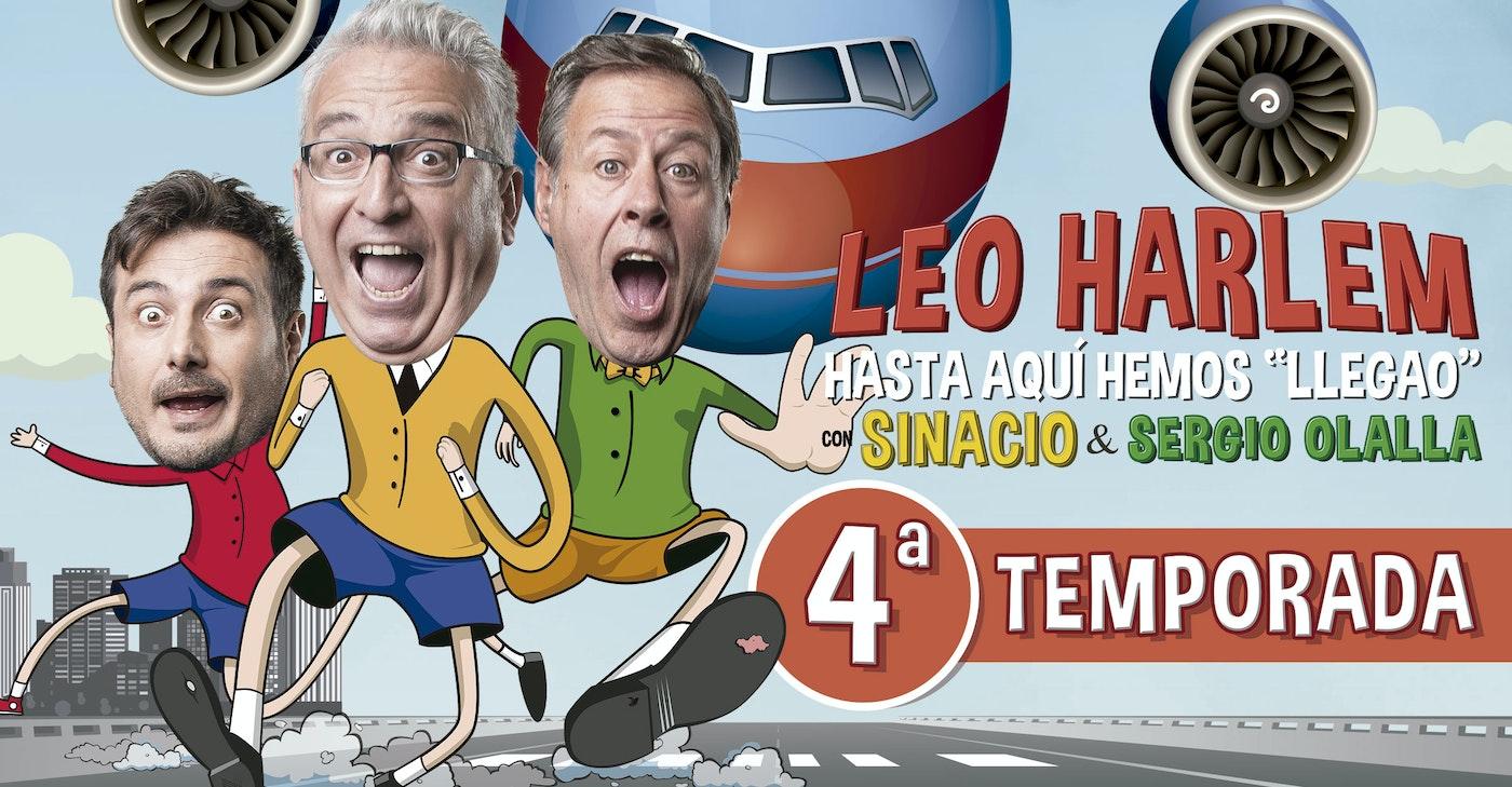 """Hasta Aquí Hemos """"Llegao"""" - Con Leo Harlem, Sinacio y Sergio Olalla"""