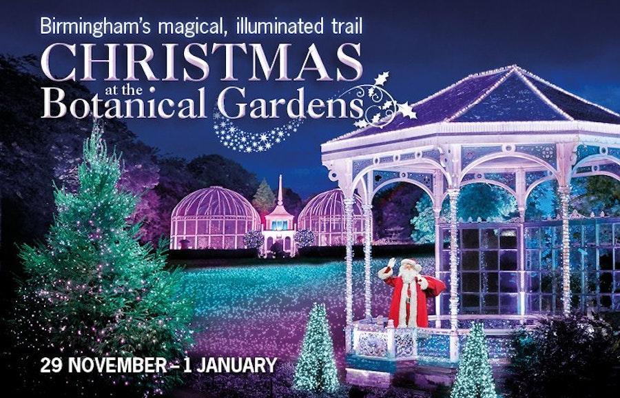 Christmas at the Botanical Gardens