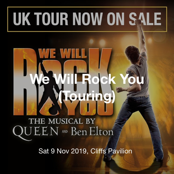 We Will Rock You (Touring) Tickets @ Cliffs Pavilion